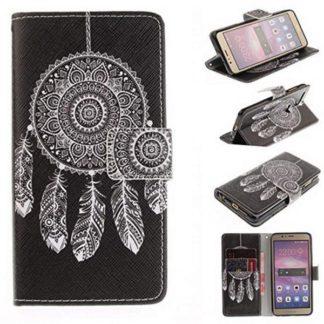 Plånboksfodral Huawei Honor 8 – Drömfångare / Dreamcatcher