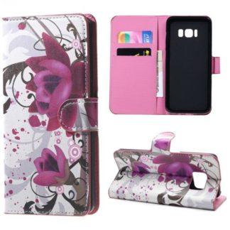 Plånboksfodral Samsung Galaxy S8 – Lotus