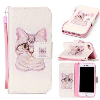 Plånboksfodral Apple Iphone 7 – Katt