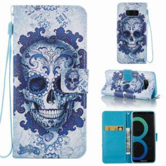 Plånboksfodral Samsung Galaxy S8 – Döskalle
