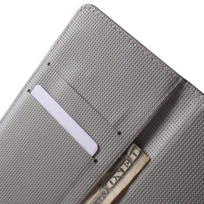 Plånboksfodral Huawei Honor 9 - Svart med Fjärilar