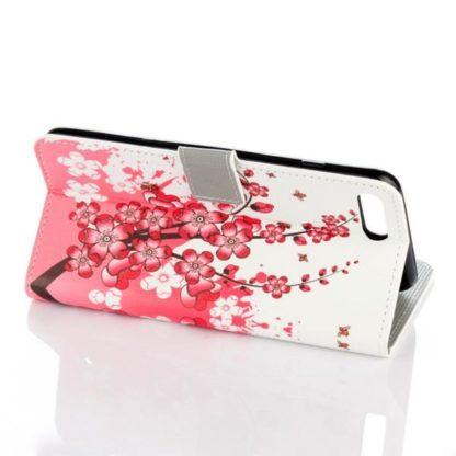 Plånboksfodral Apple iPhone 8 Plus - Körsbärsblommor