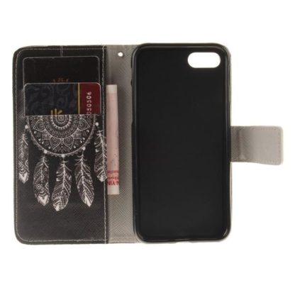 Plånboksfodral iPhone SE (2020) - Drömfångare Svart