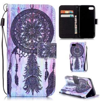 Plånboksfodral iPhone SE (2020) - Drömfångare Lila