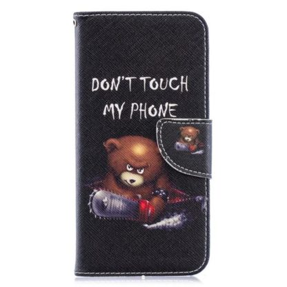 Plånboksfodral Huawei Y6 2019 - Don't Touch My Phone