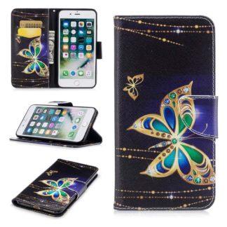 Plånboksfodral Apple iPhone 6 Plus – Guldfjäril