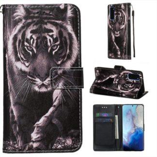 Plånboksfodral Samsung Galaxy S20 FE - Tiger