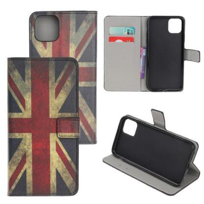 Plånboksfodral iPhone 12 Pro Max - Flagga UK