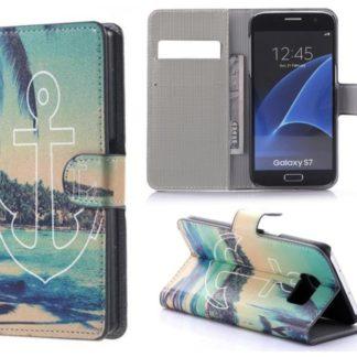 Plånboksfodral Samsung Galaxy S7 - Ankare
