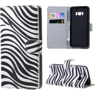 Plånboksfodral Samsung Galaxy S8 - Zebra