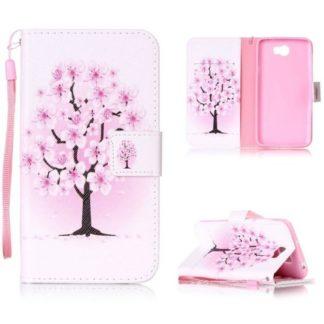 Plånboksfodral Huawei Y6 II Compact – Rosa Träd