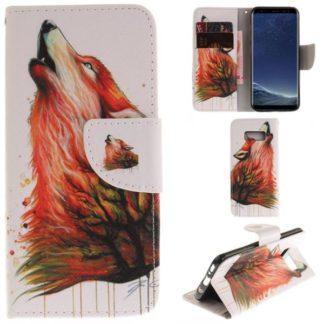 Plånboksfodral Samsung Galaxy S8 - Varg