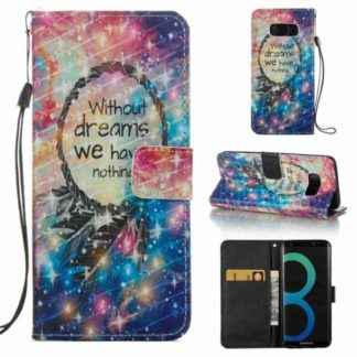 Plånboksfodral Samsung Galaxy S8 – Without Dreams We Have Nothin