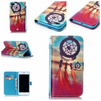 Plånboksfodral iPhone 8 Plus – Drömfångare / Dreamcatcher