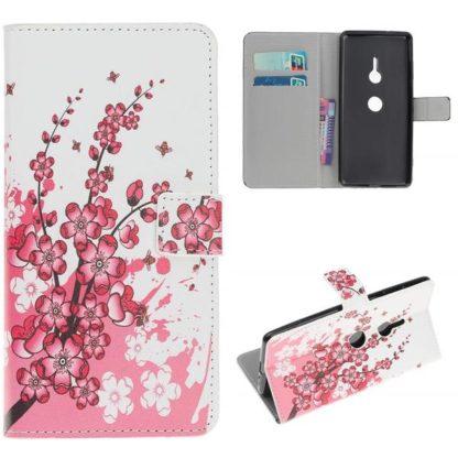 Plånboksfodral Sony Xperia XZ3 - Körsbärsblommor