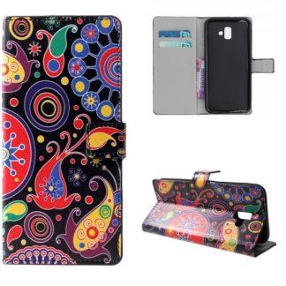 Plånboksfodral Samsung Galaxy J6 Plus - Jellyfish