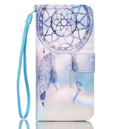 Plånboksfodral iPhone SE (2020) - Drömfångare Himmel