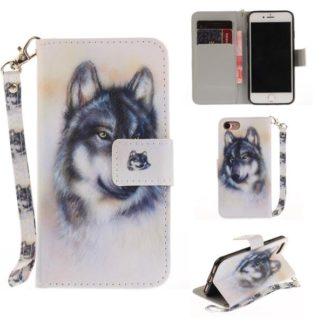 Plånboksfodral iPhone SE (2020) – Varg
