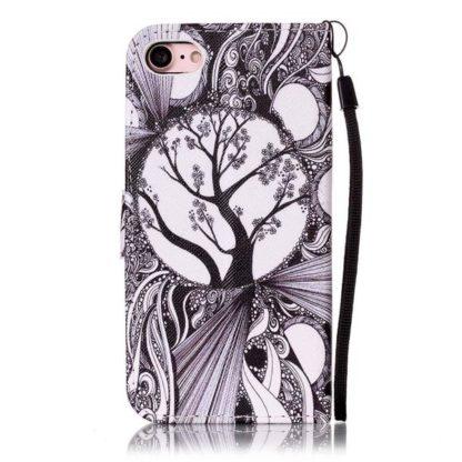 Plånboksfodral iPhone SE (2020) – Träd