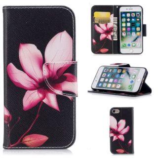 Plånboksfodral Apple iPhone SE (2020) – Rosa Blomma
