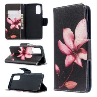Plånboksfodral Samsung Galaxy S20 FE - Rosa Blomma