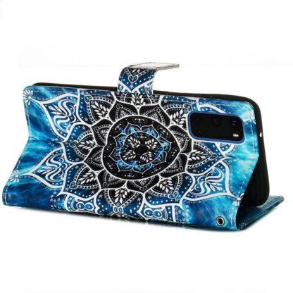 Plånboksfodral Samsung Galaxy S20 FE - Blå Mandala