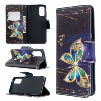 Plånboksfodral Samsung Galaxy S20 FE - Guldfjäril