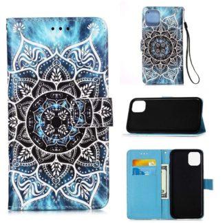 Plånboksfodral Apple iPhone 12 – Blå Mandala