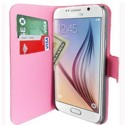 Plånboksfodral Samsung Galaxy S6 Edge – Lotus