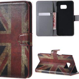 Plånboksfodral Samsung Galaxy S7 Edge - Flagga UK