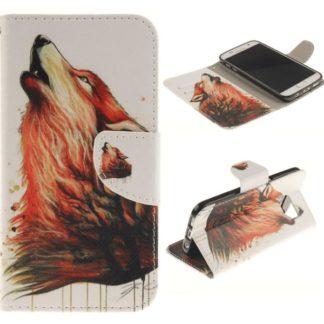 Plånboksfodral Samsung Galaxy S7 - Varg