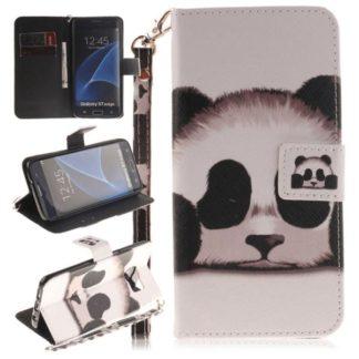 Plånboksfodral Samsung Galaxy S7 Edge – Panda