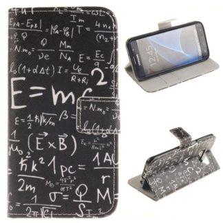 Plånboksfodral Samsung Galaxy S7 Edge - Matematiska Formler