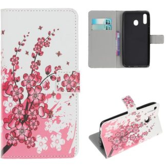 Plånboksfodral Samsung Galaxy A40 - Körsbärsblommor