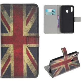 Plånboksfodral Samsung Galaxy A40 - Flagga UK