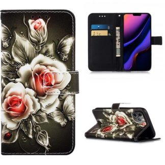 Plånboksfodral Apple iPhone 11 Pro – Rosor