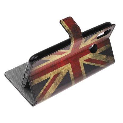 Plånboksfodral Huawei Y6 2019 - Flagga UK