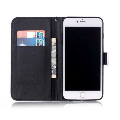 Plånboksfodral iPhone 6 Plus / 6s Plus - Don't Worry Be Happy