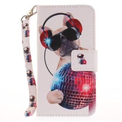 Plånboksfodral iPhone SE (2020) – Party Pug
