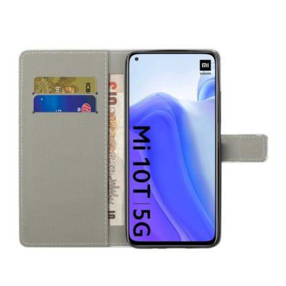 Plånboksfodral Xiaomi Mi 10T Pro - Blå Fjäril