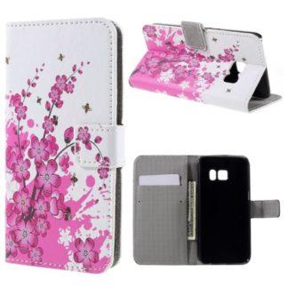 Plånboksfodral Samsung Galaxy S7 - Körsbärsblommor