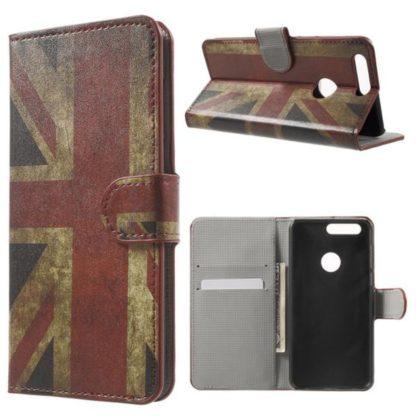 Plånboksfodral Huawei Honor 8 - Flagga UK