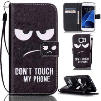 Plånboksfodral Samsung Galaxy S7 – Don't Touch My Phone