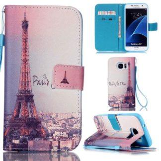Plånboksfodral Samsung Galaxy S7 – Paris Je T'aime