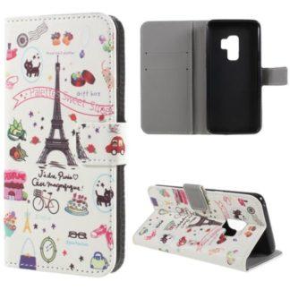 Plånboksfodral Samsung Galaxy S9 Plus - Paris