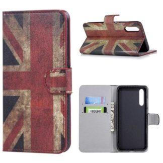 Plånboksfodral Huawei P20 Pro - Flagga UK