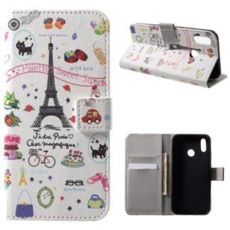 Plånboksfodral Huawei P20 Lite - Paris