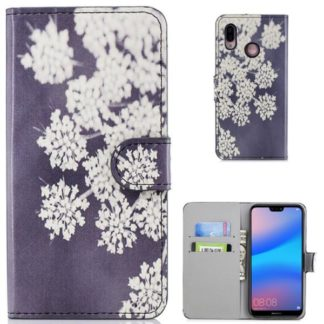 Plånboksfodral Huawei P20 Lite - Små Blommor