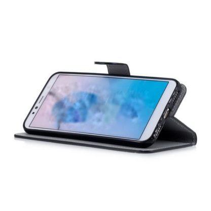 Plånboksfodral Huawei Y6 2018 - Prickigt med Uggla