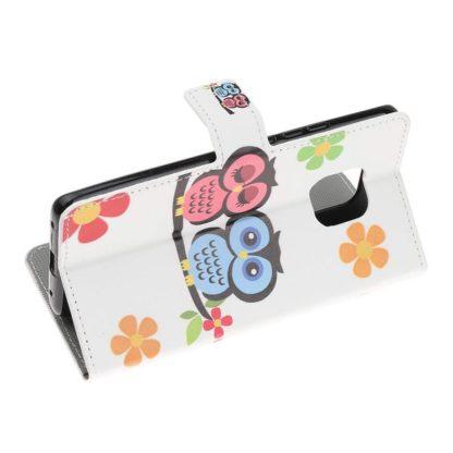 Plånboksfodral Huawei Mate 20 Pro - Ugglor & Blommor